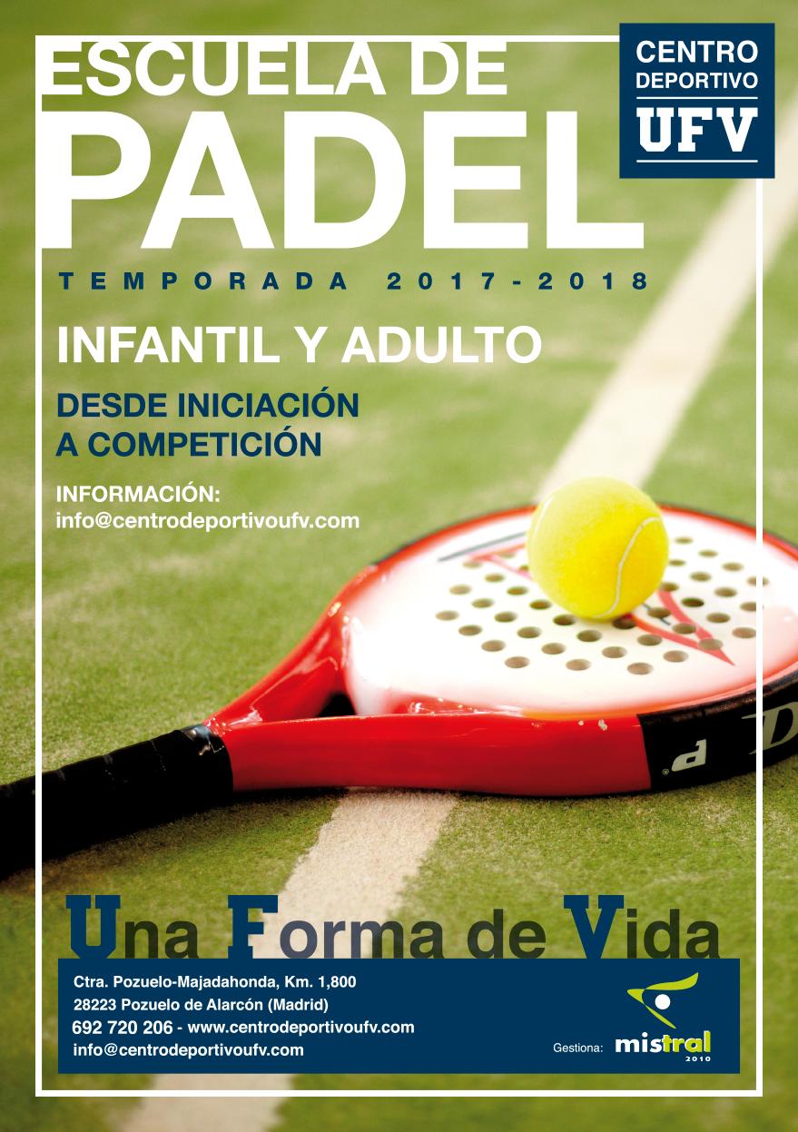 fc77e48d1e4 ESCUELA DE PADEL – Centro Deportivo UFV